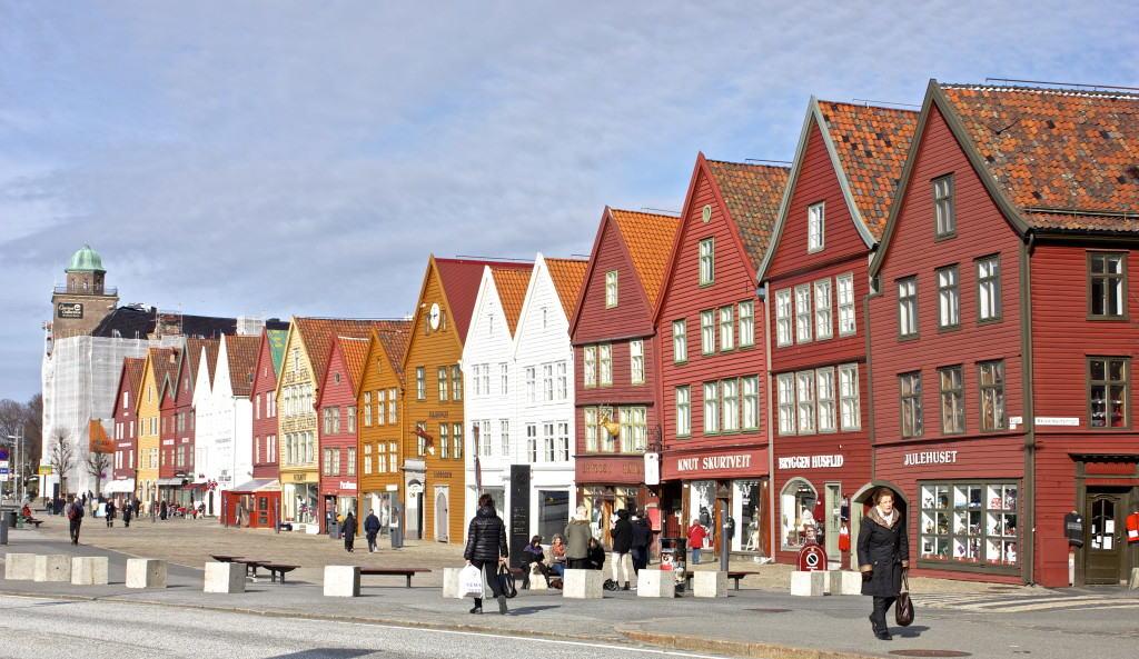 Bergen - verdens finest by når det er sol!