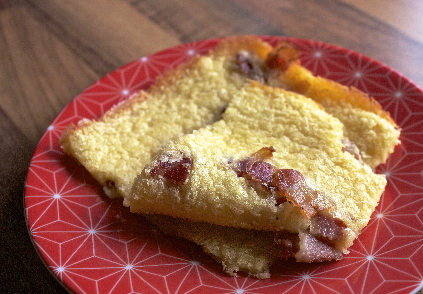 Gluten- og laktosefri pannekake i langpanne