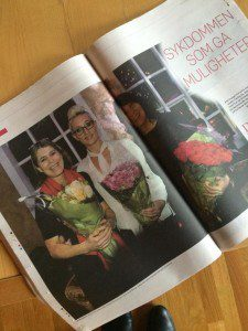 Cecilie Hauge Ågotnes arbeid og presse:
