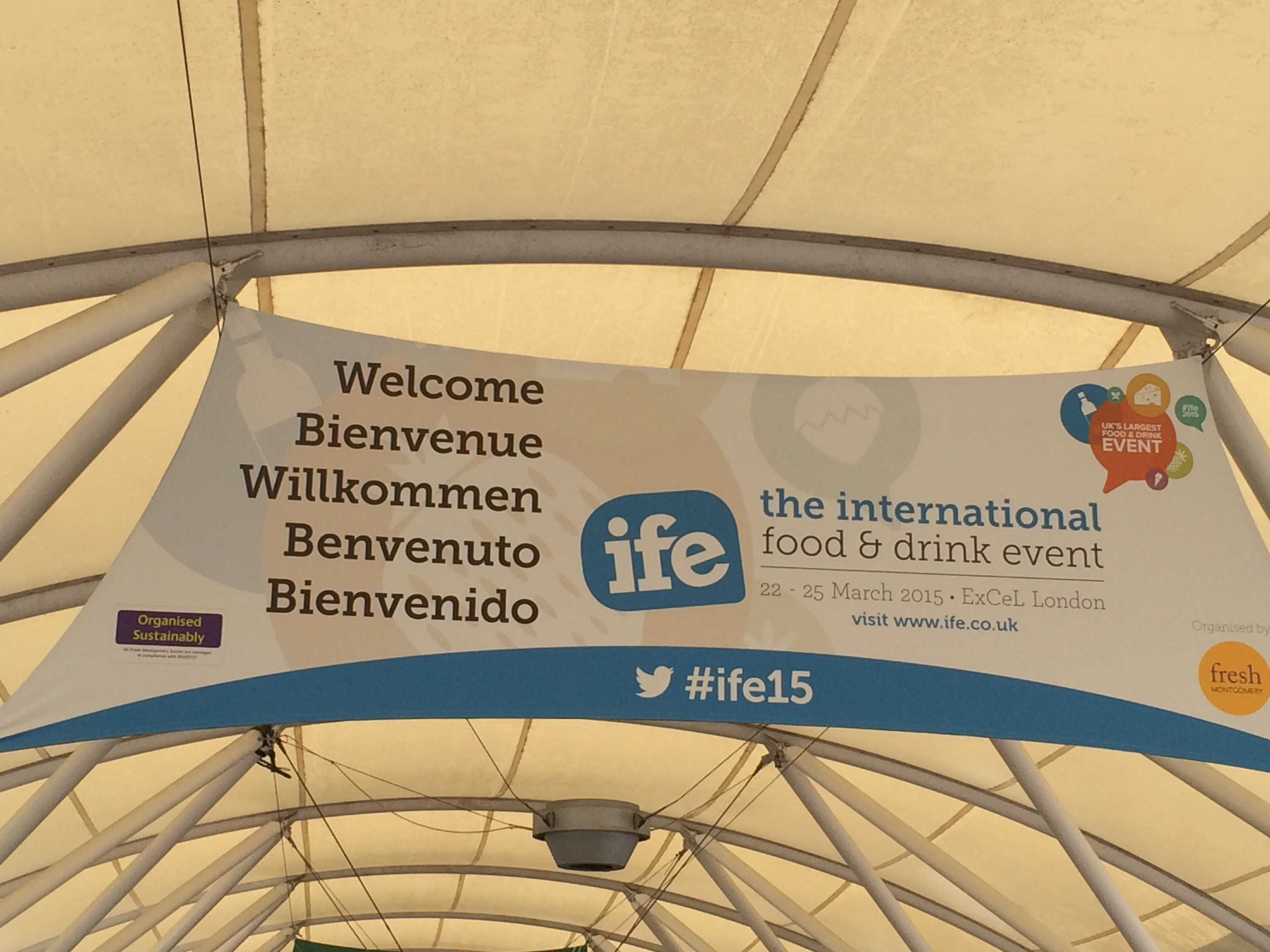 International Food and drink Event (IFE) - London