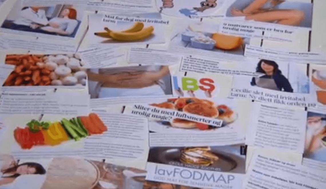 Web-TV om IBS og lavFODMAP-dietten