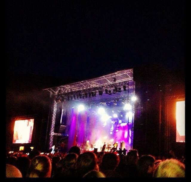 LavFODMAP på konsert, ikke alltid lett!