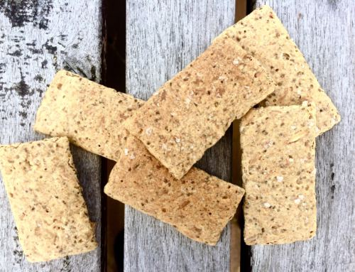 Glutenfrie knekkebrød med chiafrø