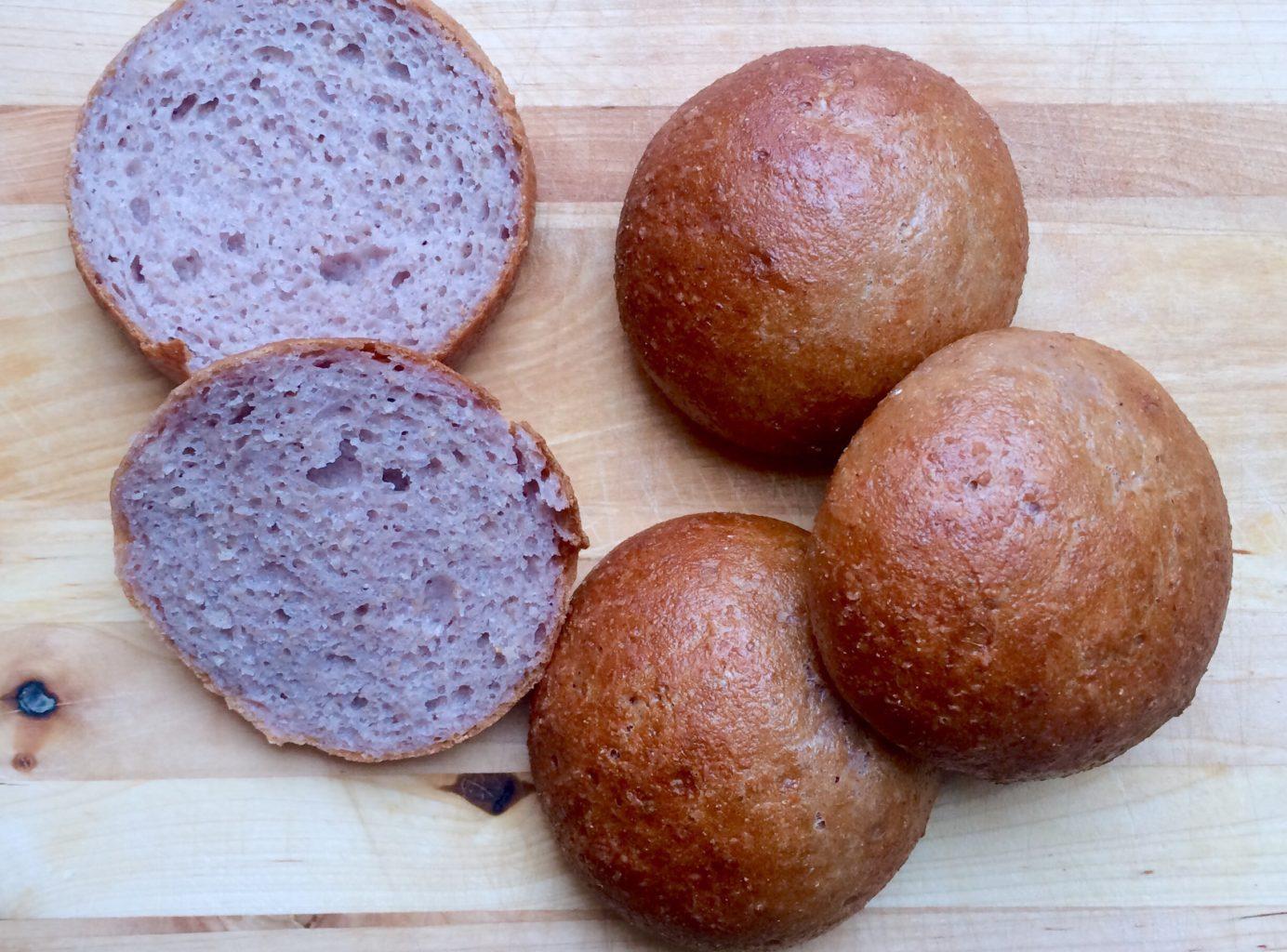 LavFODMAP glutenfrie og laktosefrie grove rundstykker