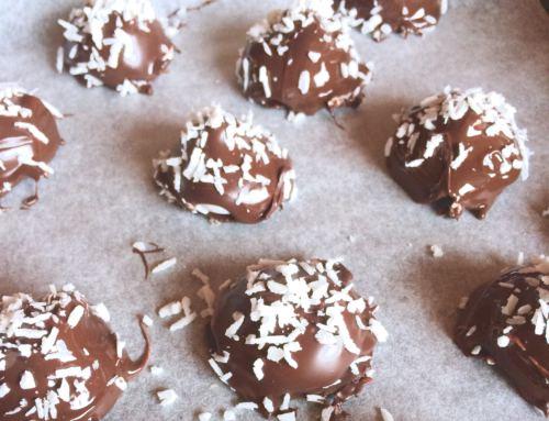 Glutenfri laktosefri LavFODMAP kokosboller