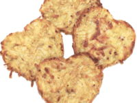 Glutenfrie og laktosefrie hash browns