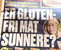 Er glutenfri mat sunnere?