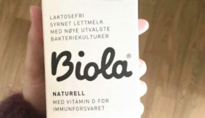 laktosefri Biola