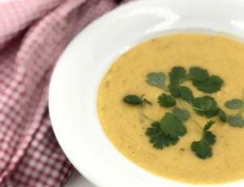 Glutenfri og laktosefri Gresskarsuppe