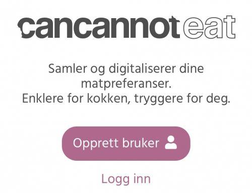 Vil du være testbruker for CanCannotEat?