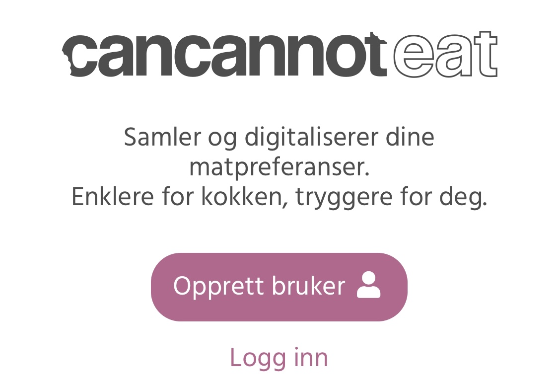 Bli testbruker for CanCannotEat