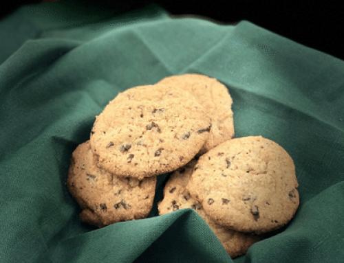 Glutenfrie sjokoladecookies med havre