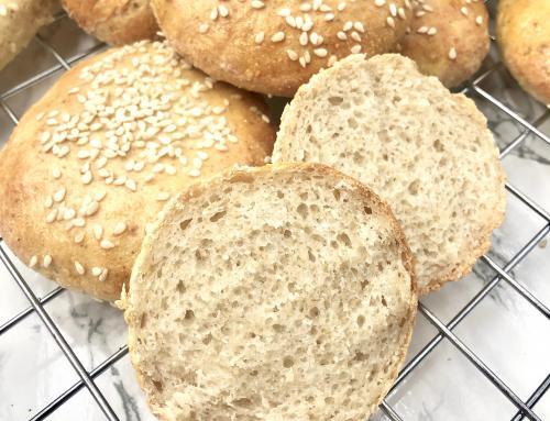 Glutenfrie pølsebrød og hamburgerbrød