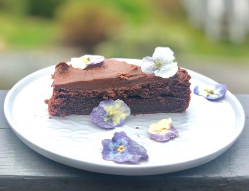 Sjokoladekake av surdeig