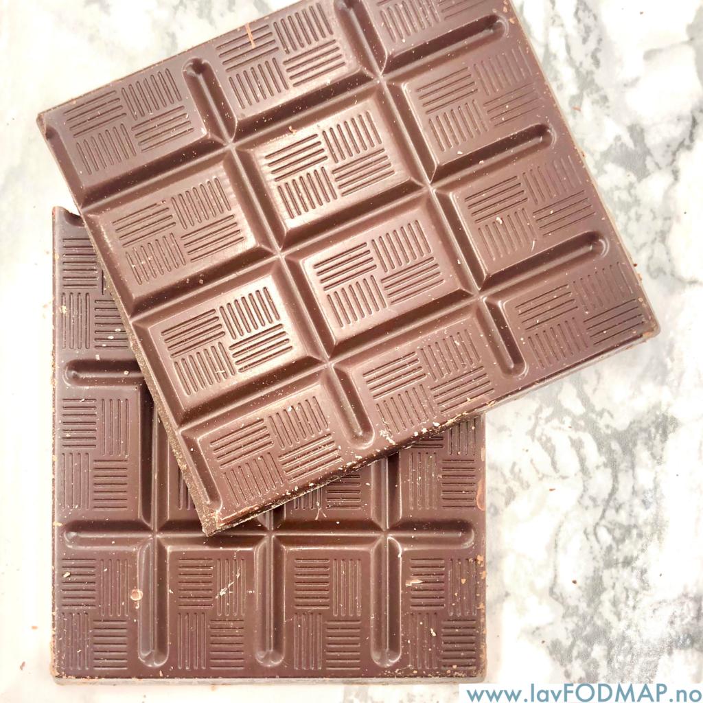 """Du kan spise noen """"vanlige"""" sjokolader, selv på laktoseredusert diett!"""