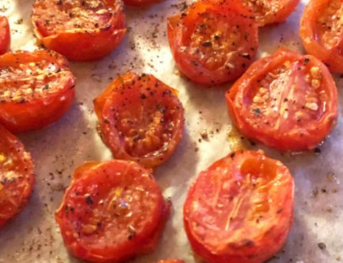 Superenkel ovnsbakt tomat