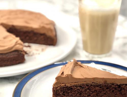 Glutenfri vegansk sjokoladekake